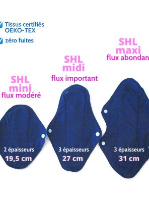 Serviette Hygiénique Lavable (SHL) oummey